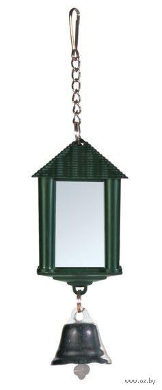 """Игрушка для птиц """"Зеркальце в виде фонаря"""" (6 см)"""