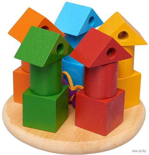 """Пирамидка """"Башенки цветные"""" — фото, картинка"""