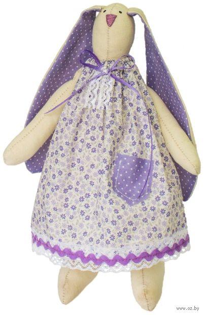 """Набор для шитья из ткани """"Кукла. Зайка Василиса"""" — фото, картинка"""