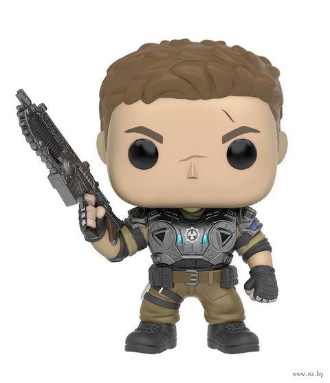 """Фигурка """"Gears of War. Джей Ди с пылающим оружием"""" — фото, картинка"""