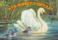 Кто живет у пруда? Книжка-панорамка. Екатерина Карганова