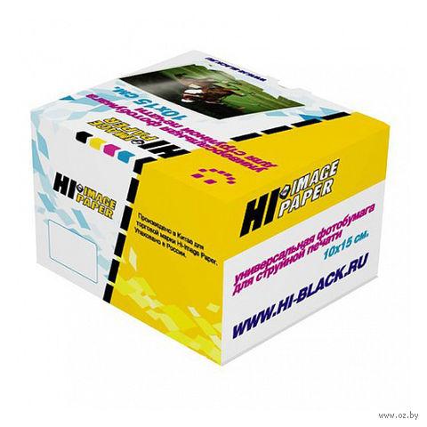 Фотобумага матовая односторонняя (500 листов, 170 г/м, 10х15 см)