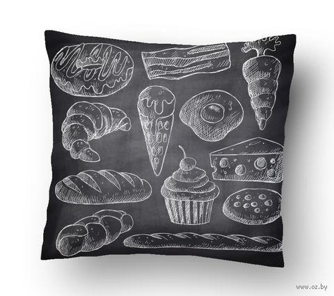 """Подушка маленькая """"Food"""" (art.14)"""