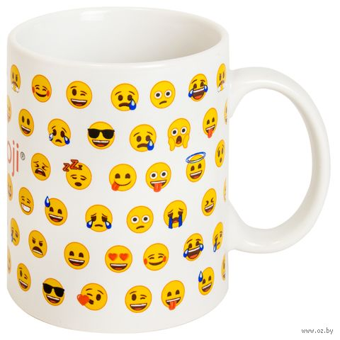 "Кружка ""Emoji Pattern"" — фото, картинка"