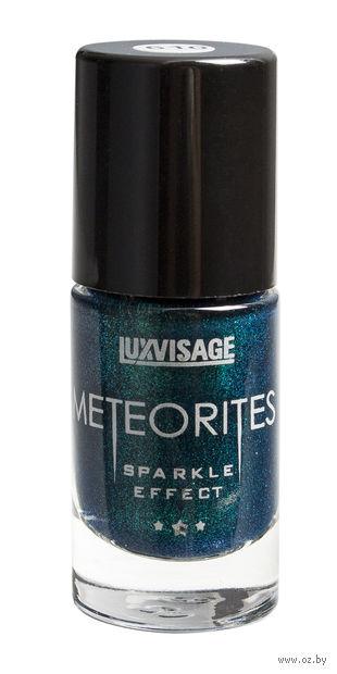 """Лак для ногтей """"Meteorites"""" (тон: 610, изумрудный дождь) — фото, картинка"""