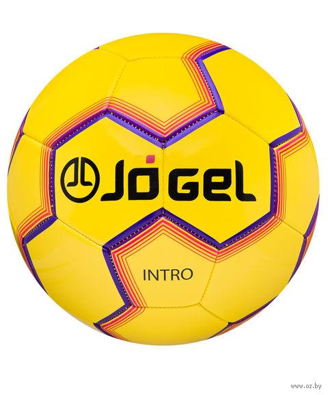 """Мяч футбольный Jogel """"Intro"""" №5 (жёлтый) — фото, картинка"""