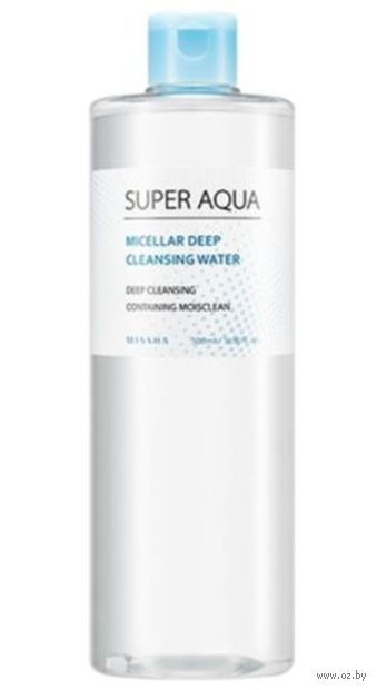 "Мицеллярная вода ""Micellar Deep Cleansing Water"" (500 мл) — фото, картинка"