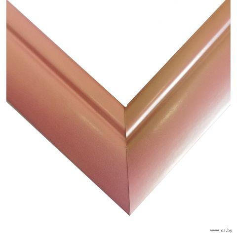 """Рамка для картины по номерам """"Дрезден"""" (30х40 см; розовая) — фото, картинка"""