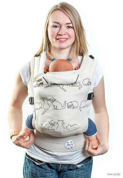 """Эргономичный рюкзак """"Натурель"""" — фото, картинка"""