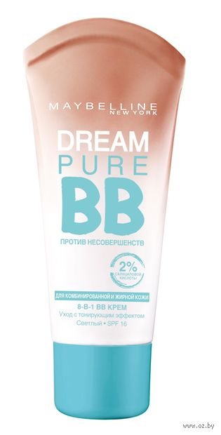 "BB крем для лица ""Dream Pure BB"" (тон: светлый; 30 мл)"