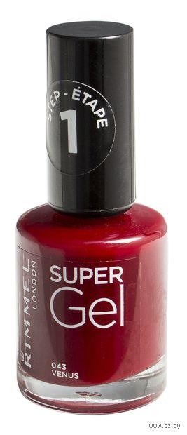 """Гель-лак для ногтей """"Super Gel"""" (тон: 043)"""