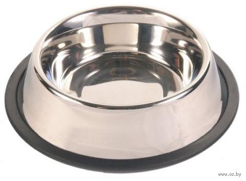 Миска для собак металлическая (0,9 л)
