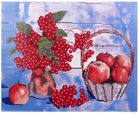 """Алмазная вышивка-мозаика """"Осенние дары"""" (400x500 мм) — фото, картинка"""