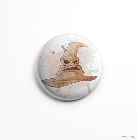 "Значок ""Гарри Поттер. Распределяющая шляпа"" (арт. 470) — фото, картинка"