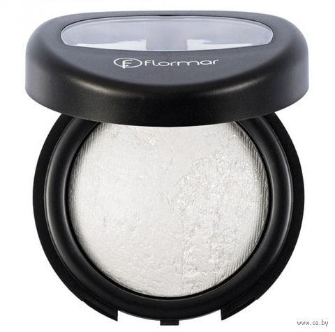 "Тени для век ""Diamonds Terracotta Eye Shadow"" (тон: 01, white diamond-intense glow) — фото, картинка"