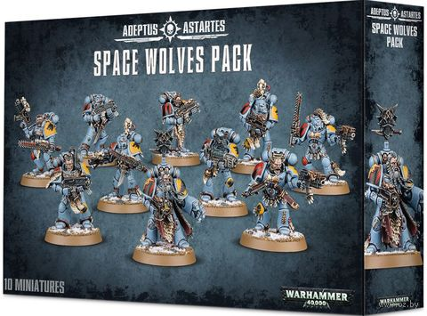 Warhammer 40.000. Space Wolves Pack (53-06) — фото, картинка