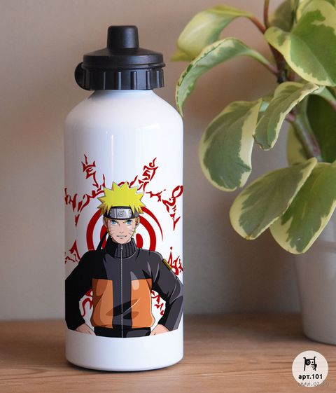 "Бутылка для воды ""Наруто"" (600 мл) — фото, картинка"