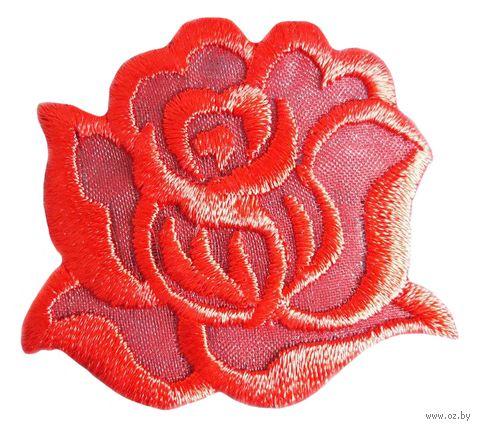 "Термоаппликация ""Роза красная"" (арт. 1445D) — фото, картинка"