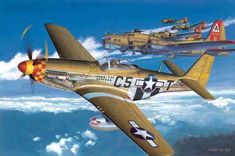 "Самолет ""North American P-51D Mustang Early Production"" (масштаб: 1/32) — фото, картинка"