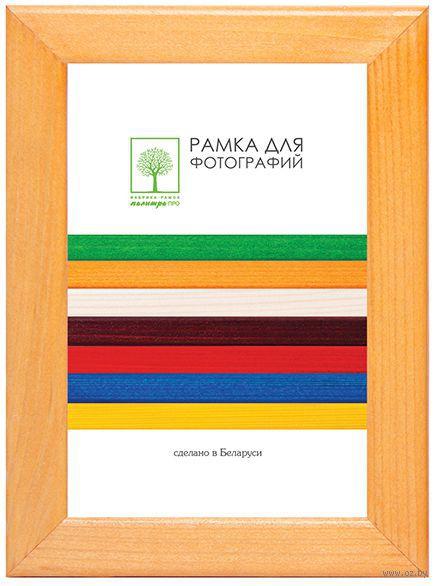 Рамка деревянная со стеклом (15х21 см, арт. Д18КЛ/1522)