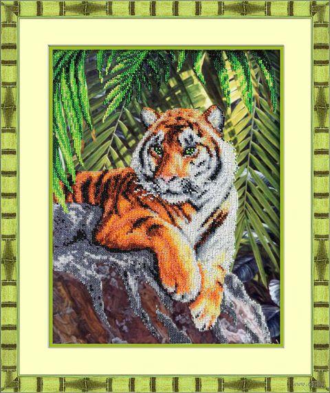"Вышивка бисером ""Тигр"""