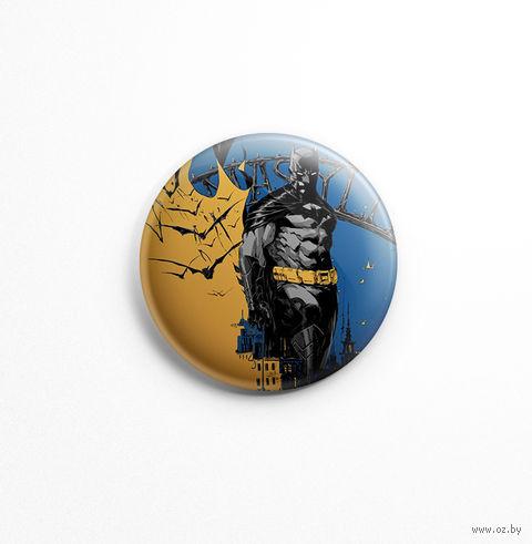 "Значок маленький ""Бэтмен"" (арт. 463) — фото, картинка"