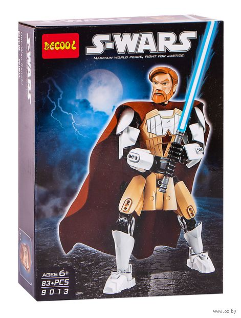 "Конструктор ""S-Wars. Оби-ван Кеноби"" (83 детали) — фото, картинка"