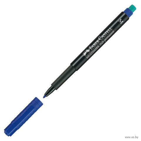 """Маркер перманентный """"Multimark"""" с ластиком (синий; толщина письма: 1 мм)"""