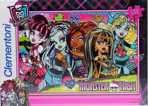 "Пазл ""Monster High. Странные и шикарные"" (500 элементов)"