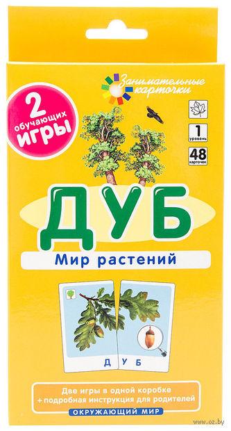 Дуб. Мир растений. Набор карточек. Е. Гончарова
