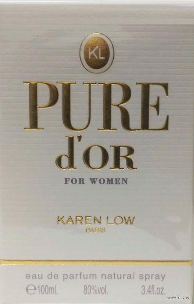 "Парфюмерная вода для женщин ""Pure d Or"" (100 мл) — фото, картинка"