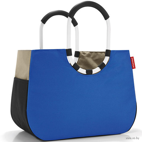 "Сумка ""Loopshopper"" (L, patchwork royal blue)"