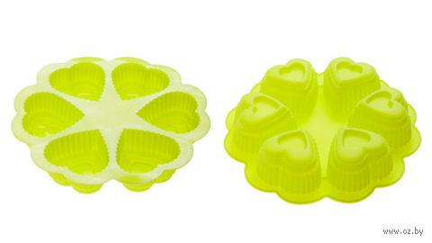 Форма силиконовая для выпекания (250x45 мм; зеленая) — фото, картинка