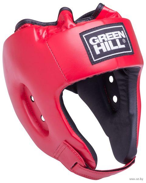"""Шлем открытый """"Alfa"""" (M; красный; арт. HGA-4014) — фото, картинка"""