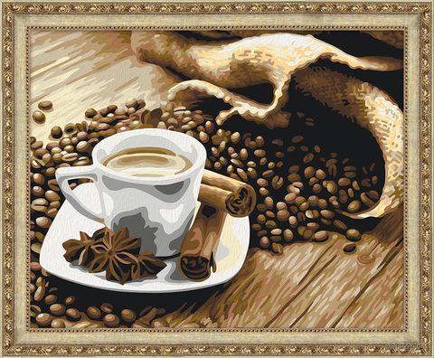 """Картина по номерам """"Аромат кофе"""" (400х500 мм) — фото, картинка"""