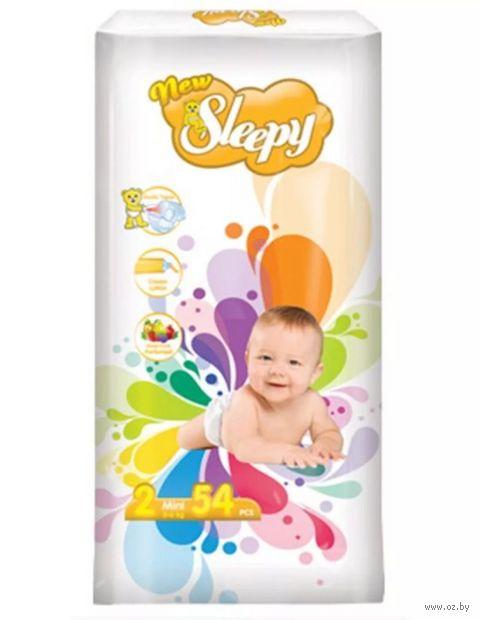 """Подгузники """"New Sleppy Mini"""" (3-6 кг; 54 шт.) — фото, картинка"""